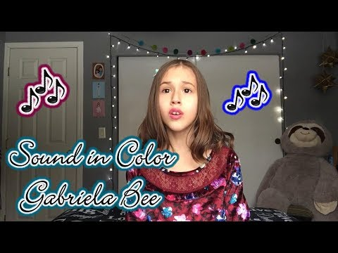 Sound in Color - Gabriela Bee - A Cappella Cover by 10-year-old Presley Noelle