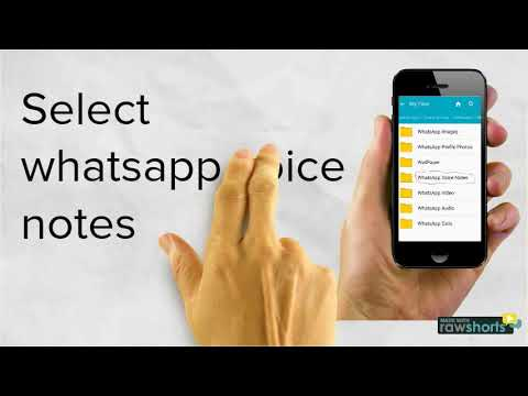 How to delete whatsapp voice notes to free up space