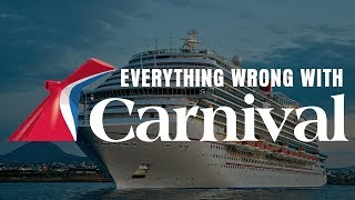 Everything Wrong With Carnival Cruises