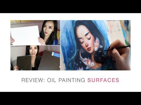 WHAT OIL PAINTING SURFACE SHOULD YOU USE? 🎨 An in-depth review