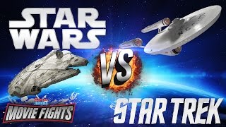 Star Wars vs Star Trek! - MOVIE FIGHTS!!