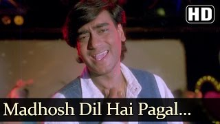 Madhosh Dil Hai Pagal Jawani (HD) - Kanoon - Ajay Devgan - Urmila Matondkar - Vinod Rathod - Vikas B