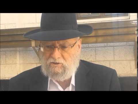 Rabbi Nachman Kahana Why Chasidim should make Aliyah - Yiddish
