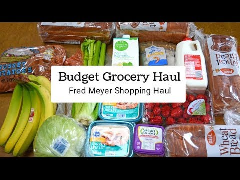 Fred Meyer, Budget Grocery Haul