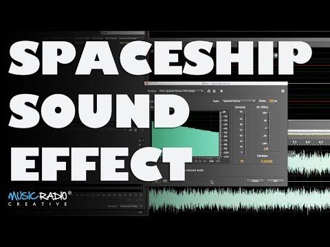 Spaceship Sound Design In Adobe Audition CC