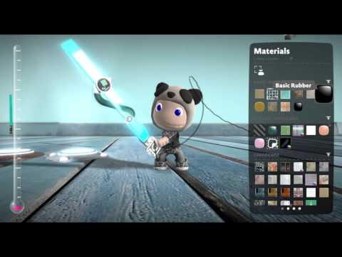 LittleBigPlanet3 lightsaber power-up speed build