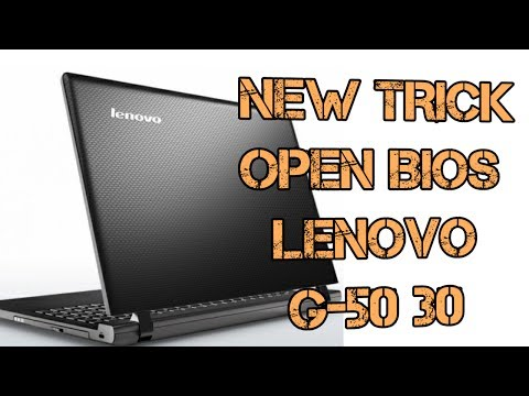New Trick To Open Bios Of Lenovo G5030