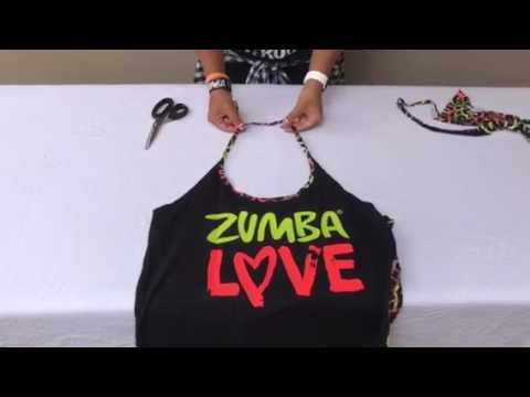 Zumbashop Australia - Cut a Zumbawear Racerback into a Halter