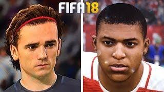 FIFA 18 +50 NEW FACES | FT. MBAPPÉ, RENATO SANCHES, GRIEZMANN...etc