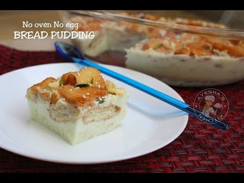 Easy Bread Pudding ( without oven & egg) | എളുപ്പത്തിൽ ഒരു ബ്രഡ് പുഡ്ഡിംഗ്
