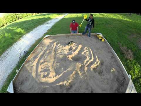 Sandbox Dirtbike Track, GoPro Time Lapse
