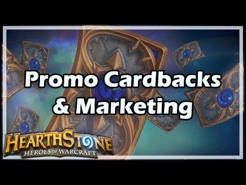 [Hearthstone] Promo Cardbacks & Marketing
