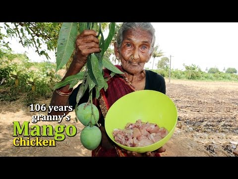 Mango Chicken Curry By 106 Years Old Granny's | Country Foods