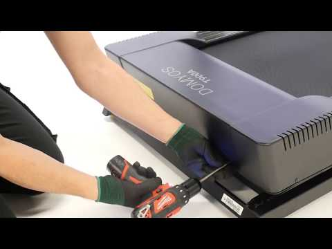 How to change the fuse on a T900A treadmill ?