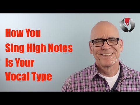 Ep.19:How You Sing High Notes is Determined by Your Vocal Type