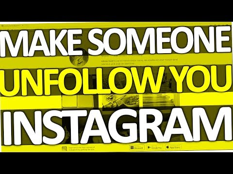 How to make someone unfollow you on Instagram (Android & PC | 2017)