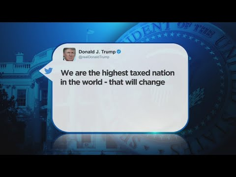 Reality Check: Trump's 'Highest Taxed Nation' Tweet