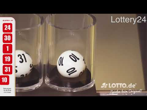2018 06 02 German lotto 6 aus 49 numbers and draw results