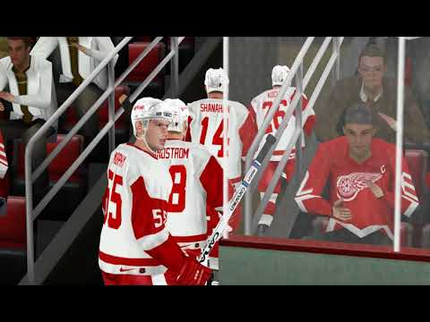 NHL 96-97 (NHL 2004 Rebuilt) - знакомство с геймплеем мода (сложность Easy)