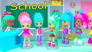 New Shopkins Shoppies Students At Happyville High School - Cookie Swirl C Video