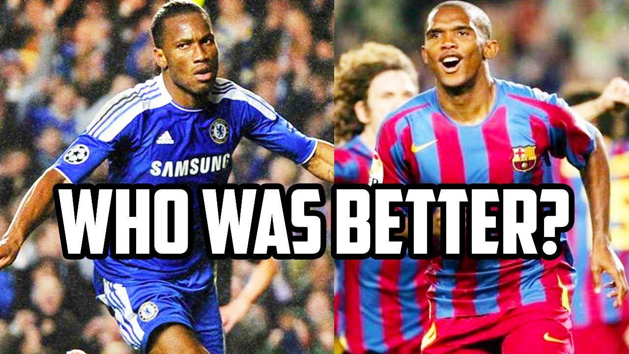 Samuel Eto'o vs Didier Drogba: Who is Africa's GREATEST Striker?