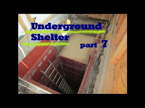 UNDERGROUND shelter, How to build an underground Bunker!!! #7