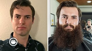 Download One Year Beard Growth Time-Lapse Video