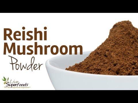 All About Reishi Mushroom Powder - LiveSuperFoods.com