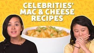 We Tried Celebrity Mac and Cheese Recipes | TASTE TEST