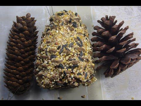 A Peanut Butter Pinecone Bird Feeder DIY, Easy Kid's Craft