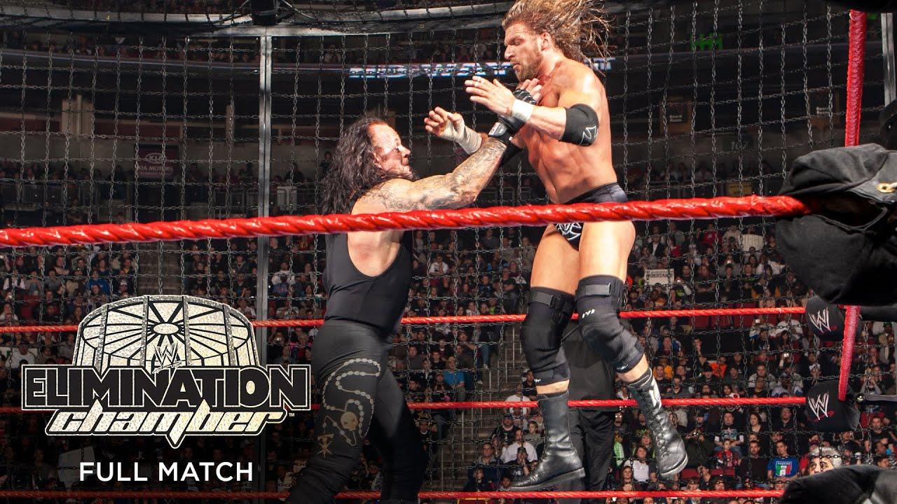 FULL MATCH - WWE Championship Elimination Chamber Match: No Way Out 2009