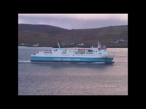 Northlink ferry leaving Lerwick - April 2006