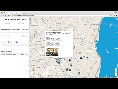 Google Maps APIs: Location Features in Web Sites