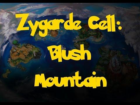 Zygarde Cell Location: Blush Mountain (Pokemon Sun/Moon)