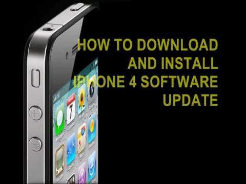 How to Download and Install Apple's iPhone 4 Signal Update