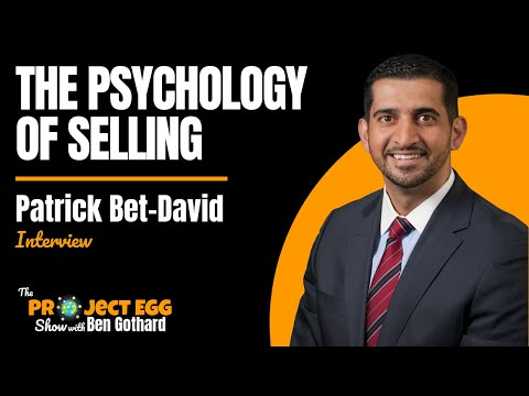 Patrick Bet-David: The Psychology Of Selling When Building A $100 Million Dollar Company