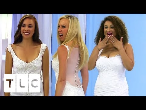Most Drastic Wedding Dress Transformations | Something Borrowed, Something New
