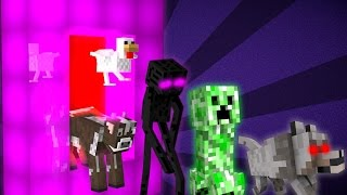 Where Mobs Come From - Minecraft