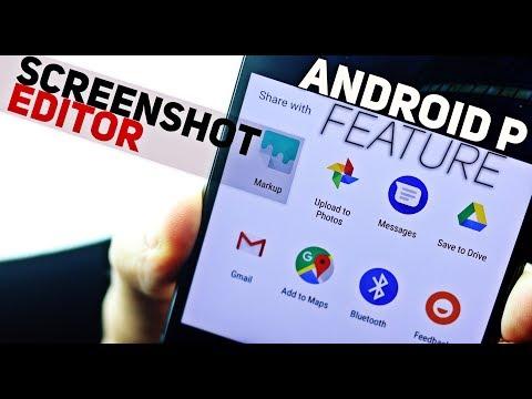 Get Android P Screenshot Editor on Any Phone | Google Markup