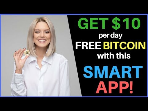 Get $10 Per Day In FREE Bitcoin With This Smartphone App!
