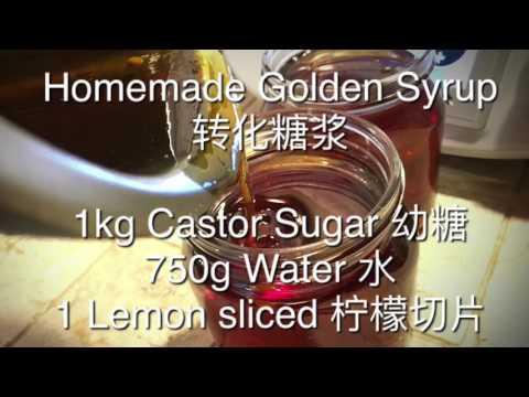 Homemade Golden Syrup
