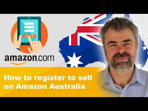 How to register to sell on Amazon Australia