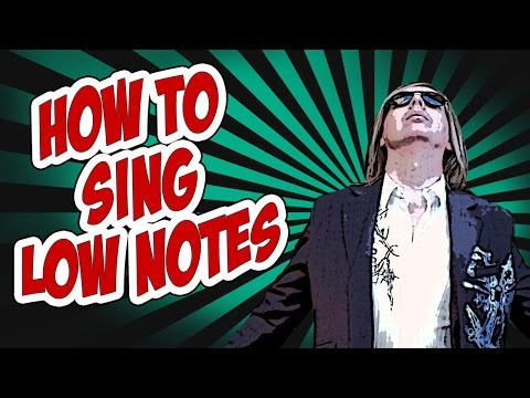 How to Sing Low Notes / Extend Lower Vocal Range / Free Lesson