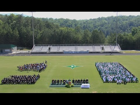 Pickens High School Graduation Class of 2016