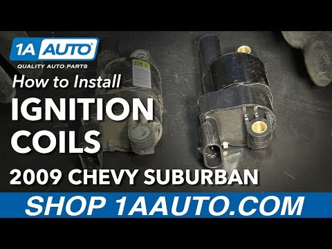 How to Install Replace Ignition Coils 2007-14 Chevy Suburban 1500