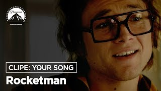 Download Rocketman | Clipe: Your Song | Paramount Pictures Brasil Video