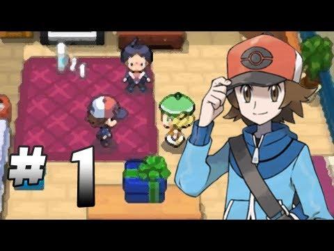 Let's Play Pokemon: Black - Part 1 - The journey begins!