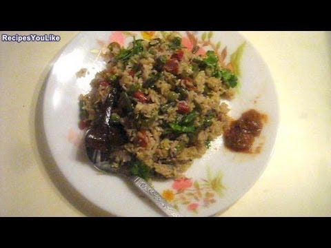 Mixed Vegetable Khichdi