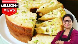 4 पौंड का केक बनाये घर के 4 चीजों से न ओवन, न कुकर, न कढ़ाई || Eggless Pound Cake Recipe ||