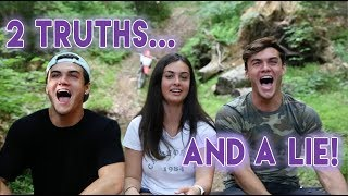2 TRUTHS AND A LIE ft. Our Sister!!